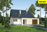 Проект одноэтажного дома с мансардой  - Муратор М143